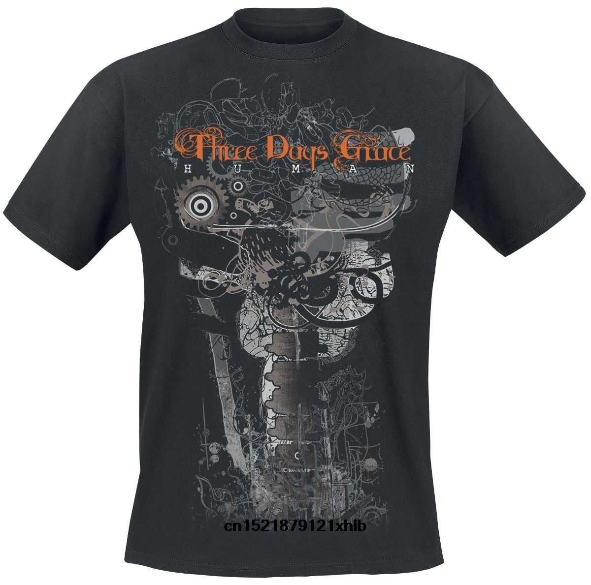 Men T shirt Human - Another Gear Three Days Grace funny t-shirt novelty tshirt women