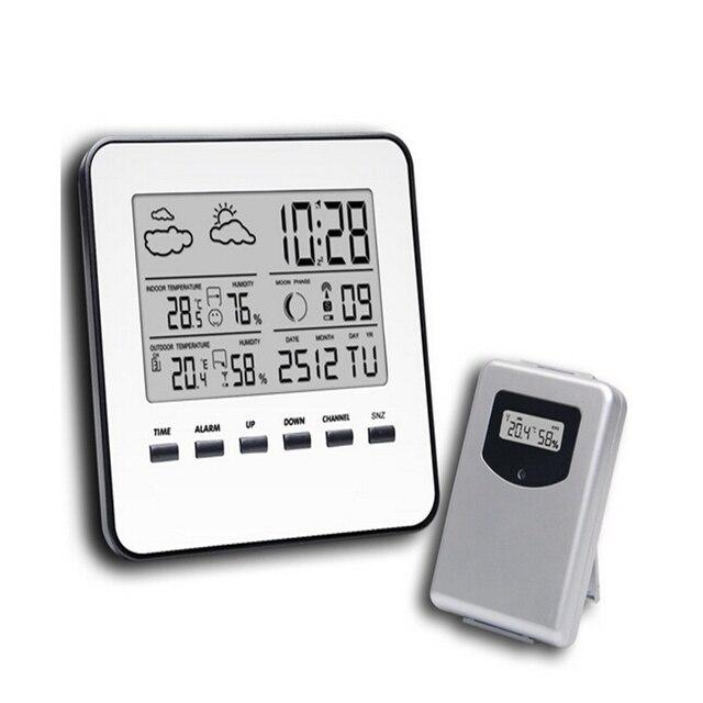 Sem fio LCD Casa Digital Termômetro Higrômetro Medidor de ...