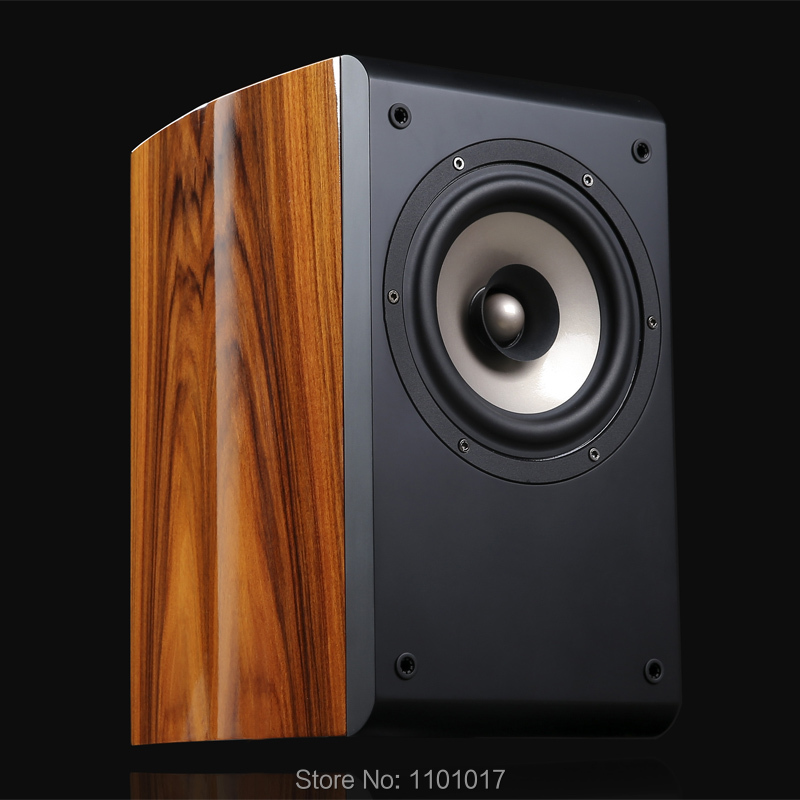 TUOLIHAO Q6 full range bookshelf speakers HIFI EXQUIS match for tube amplifier or other amp