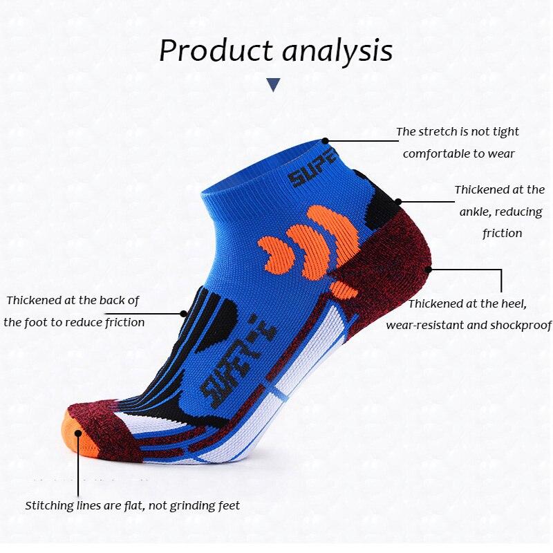 UG Coolmax corriendo de algodón calcetines de compresión al aire libre ciclismo transpirables de baloncesto de esquí Calcetines