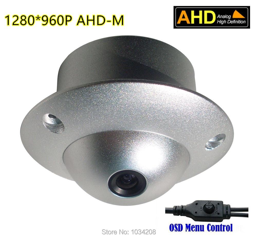 All Metal Body 2.8MM Wide Angle Board Lens AHD-M 960P HD CCTV AHD Camera 1.3MP Elevator Camera Lift Anti-Vandal Support OSD Menu
