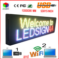 """HD 15 """"x 53"""" светодиодный дисплей открытый p10 экрана высокого качества полноцветный прокатки дверь экрана, продуктов на продажу для любого языка"""