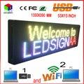 """HD de 15 """"x 53"""" tela full-color display Led p10 ao ar livre de alta qualidade porta do rolamento da tela cabeça produtos à venda para qualquer idioma"""
