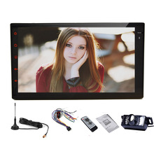 Android 5.1 Capacitive 4-Core GPS Car Stereo WiFi DTV Logo Navigator AMP Audio FM NO-DVD Tablet Radio PC EQ