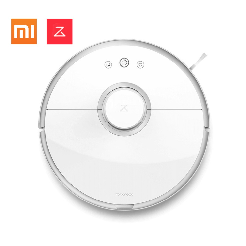 Xiaomi MIJIA Original Roborock S50 S51 Robot Vacuum Cleaner 2 Smart Cleaning for Home Office Sweep Wet Mopping App Control цена и фото