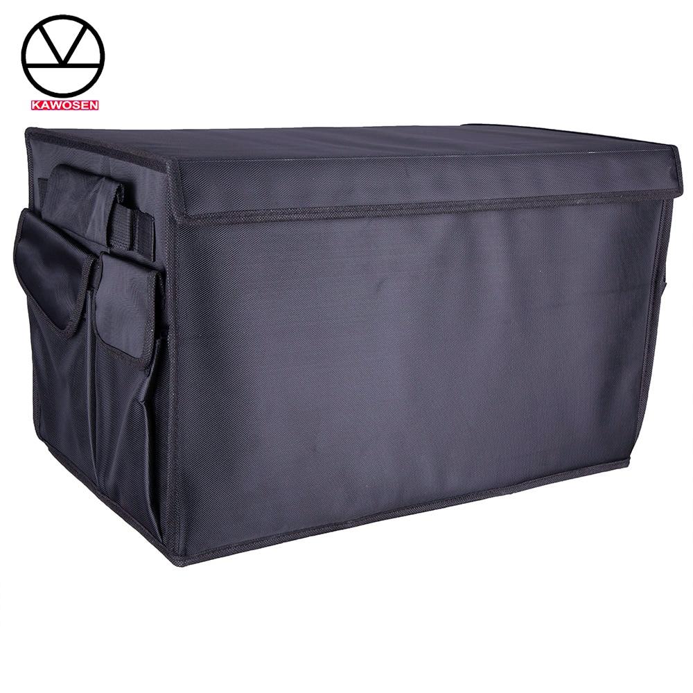 Heavy Duty Oxford KAWOSEN Stowing Tidying Interior Holder Car Foldable Trunk Organizer Storage Bags 50 KG Load Rear Racks HDTO01