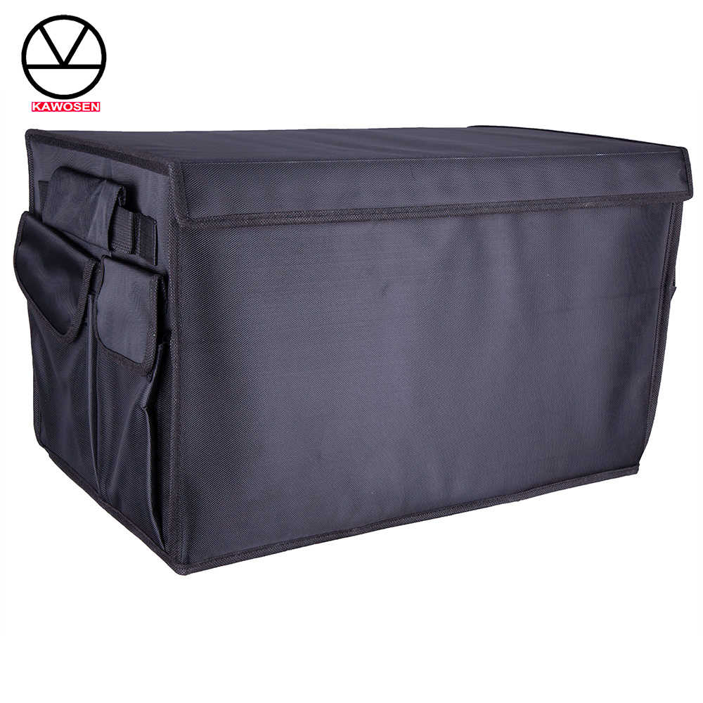 Heavy duty oxford KAWOSEN Stowing Tidying Interior Holder Car Foldable Trunk Organizer Storage Bags 50 KG load Rear Racks HDTO01