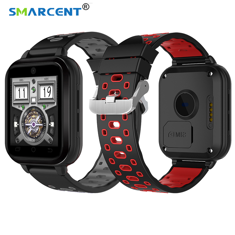 SMARCENT Q1 Pro 4G smart watch Phone Android 6.0 Quad Core 1GB/8GB SmartWatch  Heart Rate Sim Card Support Change MTK6737 huiniu q1 pro 4g smart watch android 6 0 gps 720mah camera smartwatch phone heart rate monitor sim card support wifi wristwatch