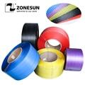 ZONESUN полипропиленовая крепежная лента производственная линия промышленная упаковочная лента