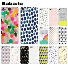 Babaite Cinta Polka Dots TPU Transparan Ponsel Case Penutup Shell UNTUK iPhone X XS Max 6 6 S 7 7plus 8 8 PLUS 5 5S SE XR(China)