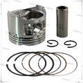 1 Set Motorcycle Piston Kit with Pin Rings Clips Set For S u z u k i GSX250 GSX 250  72A 73A 74A