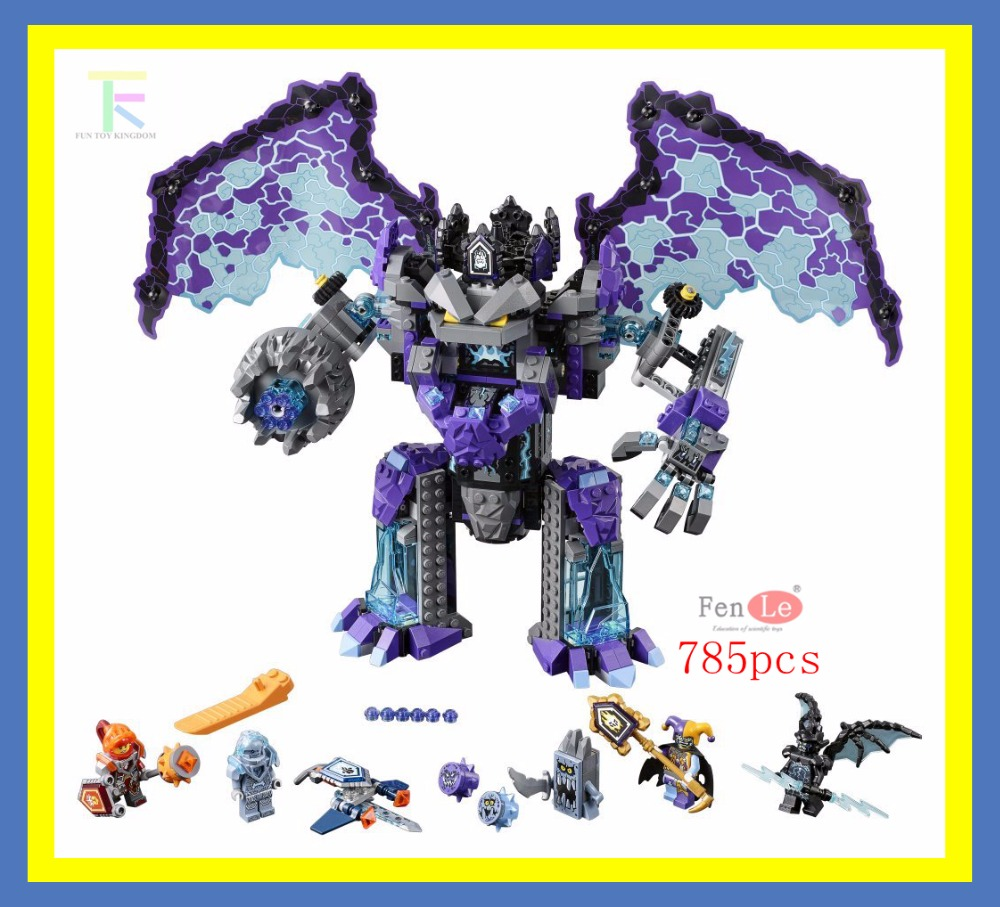 Lepin Nexus Knights Stone Statue Rotorcraft Building Blocks Bricks Toys for children Compatible legoe Nexus Knights 70356 lepin 14004 knights beast master chaos chariot building bricks blocks set kids toys compatible 70314 nexus knights 334pcs set