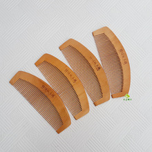 CA14 натурального персикового дерева расческа натуральное деревянные гребни с двумя стиле