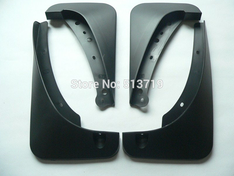 ФОТО Free shipping car splasher Mudguard Mud Flaps Splash Guards covers Fit For Buick Enclave 1set 4pcs