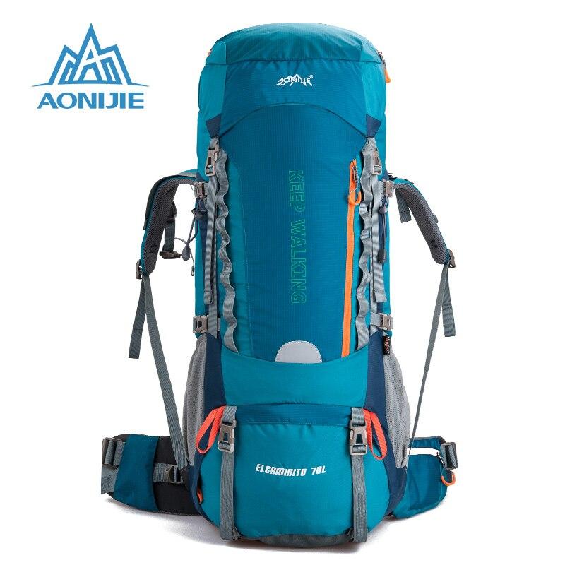Aonijie alta calidad escalada senderismo bolsa mochila deportes al aire libre bo