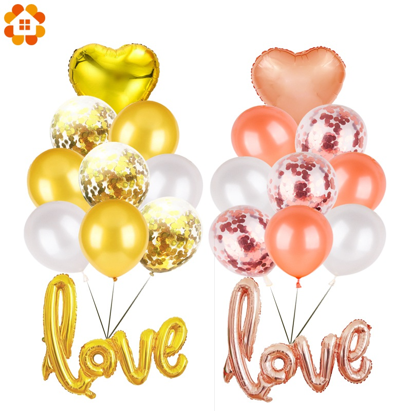 1PACK 12inch Latex Colorful Balloons Confetti Air Inflatable Ball Helium Balloon For Birthday Wedding Party Supplies