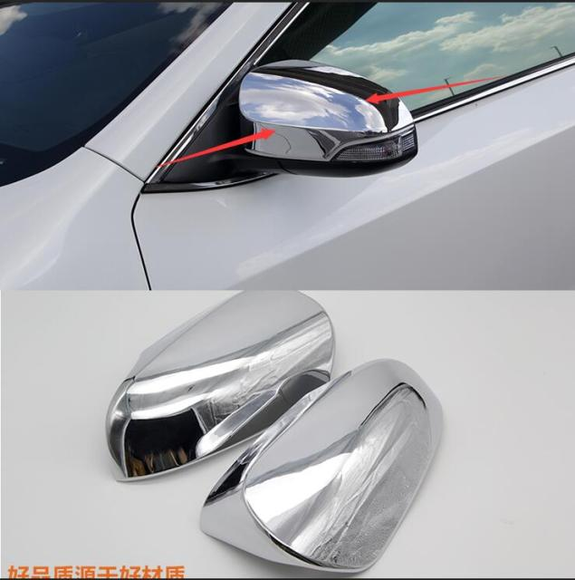 For Toyota Camry 2015 2016 Free Shipping Abs Chrome Design