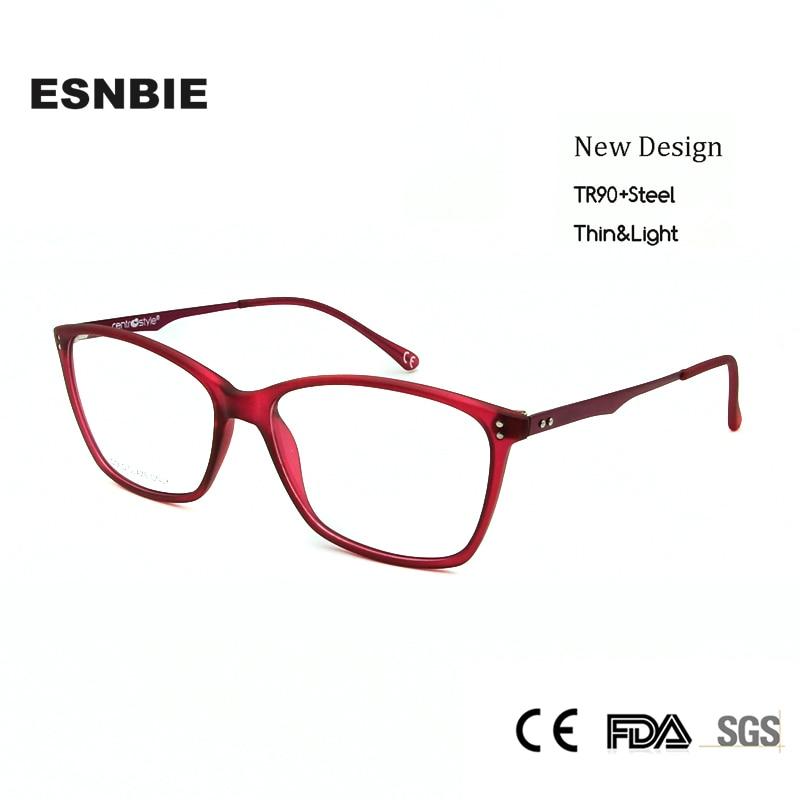 ESNBIE Italien Neue Designer Brillen Rahmen Frauen Rosa Farbe ...