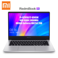 Xiaomi Redmibook 14 Laptop Intel Core i5 8265U / i7 8565U 8GB DDR4 2400MHz RAM NVIDIA GeForce MX250