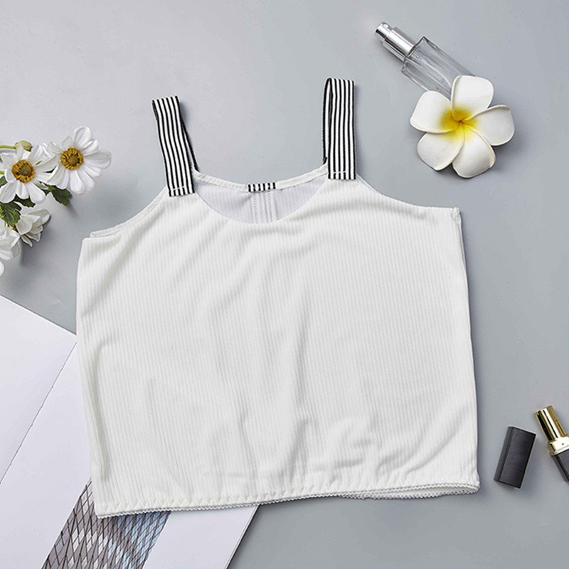 High Quality Comfy Spandex Underwear Women High Elastic Camisole Female Basic Sports Crop Tops Woman Lingerie Tank Tops in Camisoles Tanks from Underwear Sleepwears