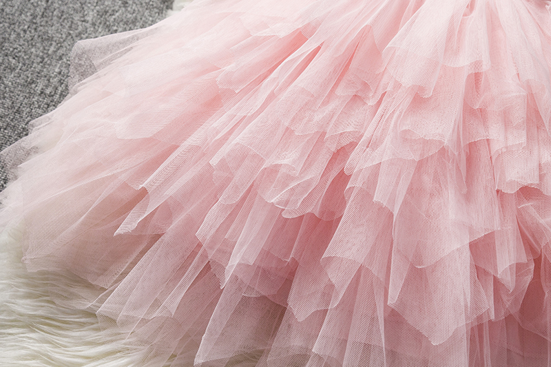 HTB1esEuadfvK1RjSspfq6zzXFXaJ Children Formal Clothes Kids Fluffy Cake Smash Dress Girls Clothes For Christmas Halloween Birthday Costume Tutu Lace Outfits 8T