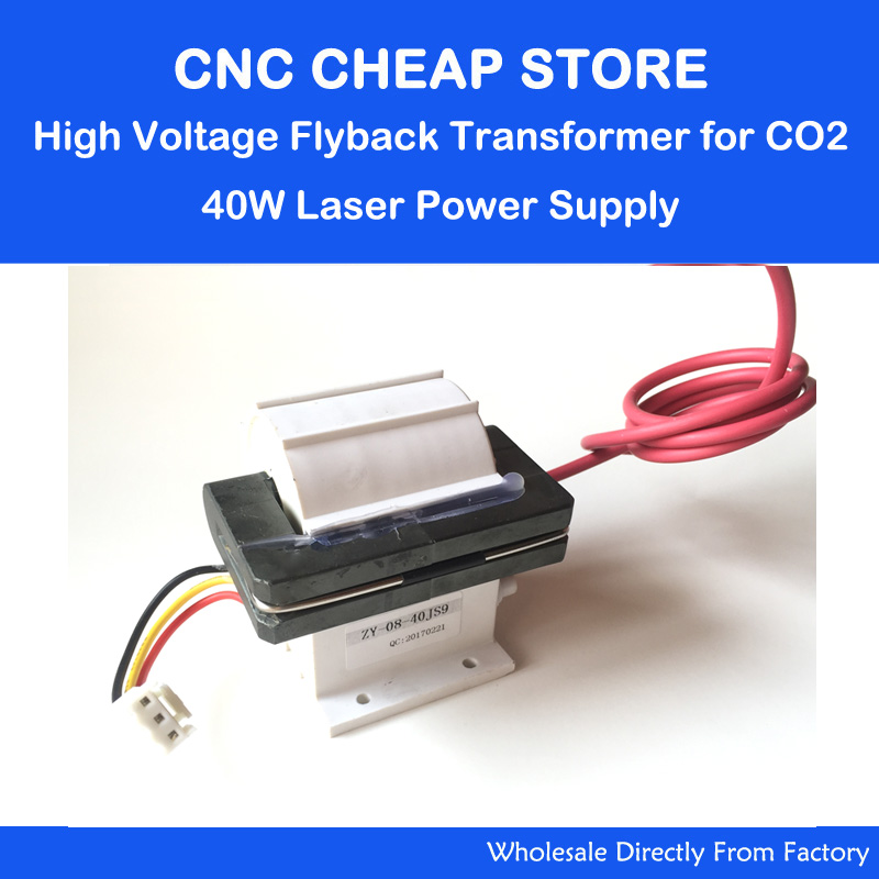 high voltage flyback transformer for 40W CO2 laser power supply MYJG-40  цены