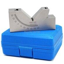 AP25 инструменты производитель Калибр для точного измерения микро регулируемый угол V блок фрезерование установка от 0 до 60 градусов угол пластины угол блок угол Калибр
