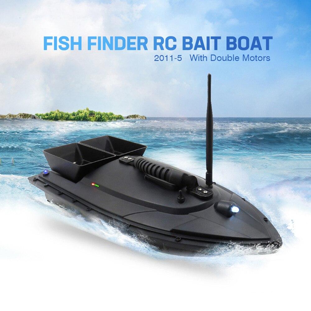 MUQGEW 2019 mode jouet poisson trouveur 1.5 kg chargement 500 m télécommande pêche appât bateau RC bateau