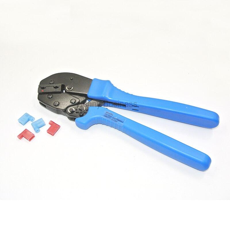 Werkzeuge Handwerkzeuge Flagge Crimpverbinder Zange Fit Für 4,8 6,3 Flagge Typ Buchsen Isolierte Crimpen Kapazität 0,5 ~ 1.5mm2 1,5 ~ 2.5mm2