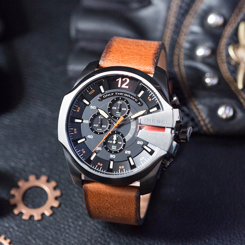 Diesel / Tsei CHIEF Officer Series Three Chronograph horloge - Herenhorloges - Foto 1