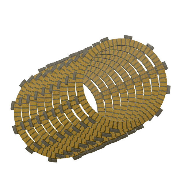 Motorcycle Clutch Friction Plates Set for Kawasaki ZX1100 GPZ1100 83-84/ ZX-7/ZX-9R(97)/ZRX1100 ZRX1200 Clutch Lining #CP-0009