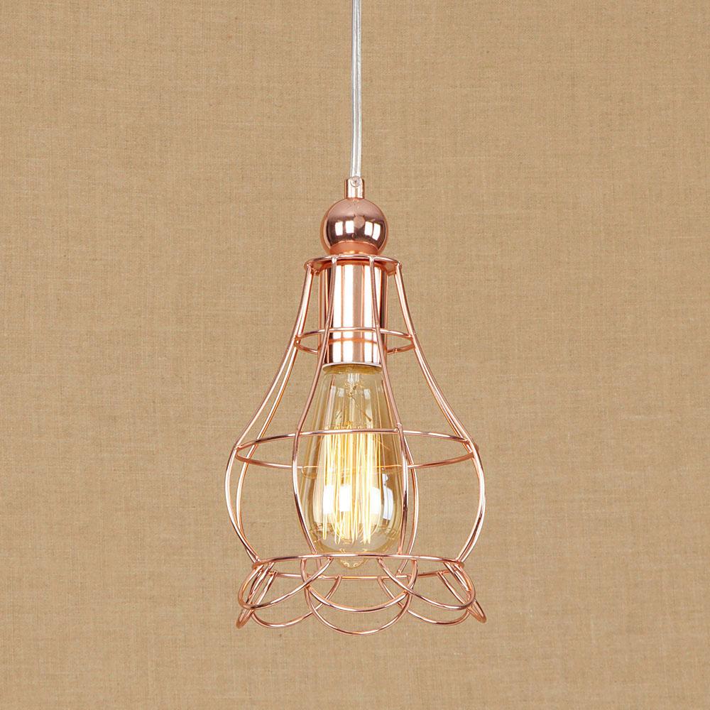 Loft Style Adjust Iron Droplight Industrial Vintage LED Pendant Light Fixtures For Dining Room Hanging Lamp Home Lighting
