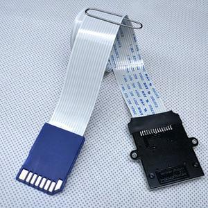 Image 5 - بطاقة تمديد بطاقة SD إلى بطاقة SD محول قراءة مرنة موسع مايكرو SD إلى SD/SDHC/SDXC بطاقة الذاكرة موسع الحبل Linker