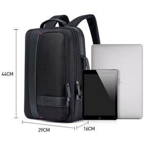 Image 5 - BOPAI Maschio Borse di Modo USB di Ricarica Zaino per Gli Uomini borsa da Viaggio di Affari Del Computer Da 15.6 Pollici Zaino degli uomini di Casual di Lavoro Daypacks