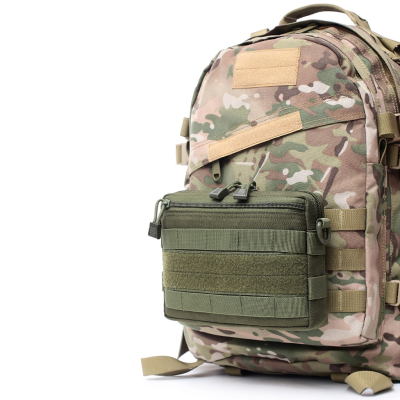 Outdoor 1000D Bag Military Molle Utility EDC Tool Waist Pack Tactical Medical First Aid Pouch Phone Holder Case Hunting Bag