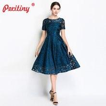 2fa5e0abb6e1e54 Peritiny плюс Размеры платья для Для женщин 4Xl 5Xl элегантный Офисные  женские туфли Vestidos короткий рукав