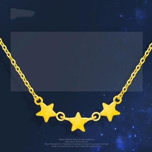 Image 2 - SFE 24K טהור זהב שרשרת אמיתי AU 999 מוצק זהב שרשרת יפה עלה אופנתיים יוקרתיים קלאסי תכשיטים חמה למכור חדש 2020