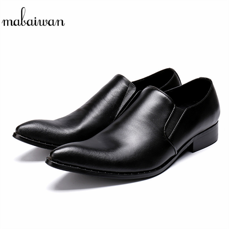 Mabaiwan Fashion Casual Men Shoes Black Genuine Leather Slipper Zapatillas Dress Shoes Men Loafers Zapatos Party Flat ChaussuresMabaiwan Fashion Casual Men Shoes Black Genuine Leather Slipper Zapatillas Dress Shoes Men Loafers Zapatos Party Flat Chaussures