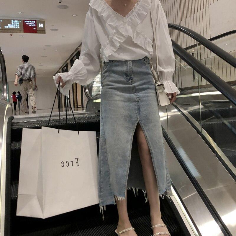 Venta al por mayor barata 2019 nueva primavera verano otoño Venta caliente mujer moda casual sexy falda MP2095