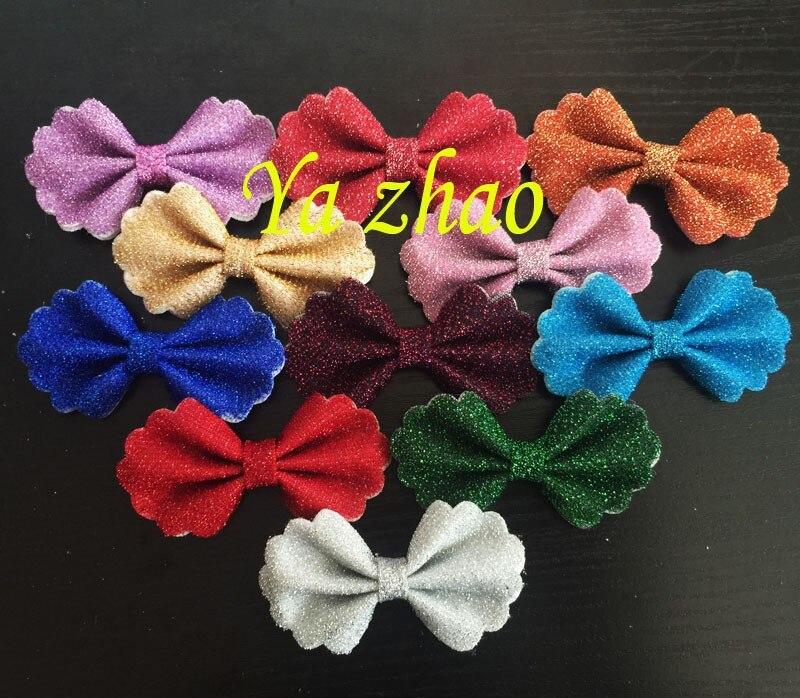 3,2 дюймов конский волос Ткань банты, банты для волос для повязки на голову, 13 цветов 500 шт./партия