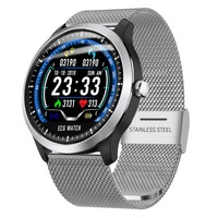 N58 Smart Watch with Electrocardiograph ecg Display Holter ecg Heart Rate Monitor Blood Pressure Smartwatch ECG PPG Smart Watch
