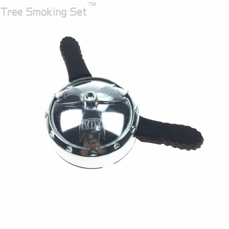 1 piezas shisha hookah bowl doble ASA carbón titular calor sabor melaza sabor shisha cabeza torbellino Amy grande en voz alta
