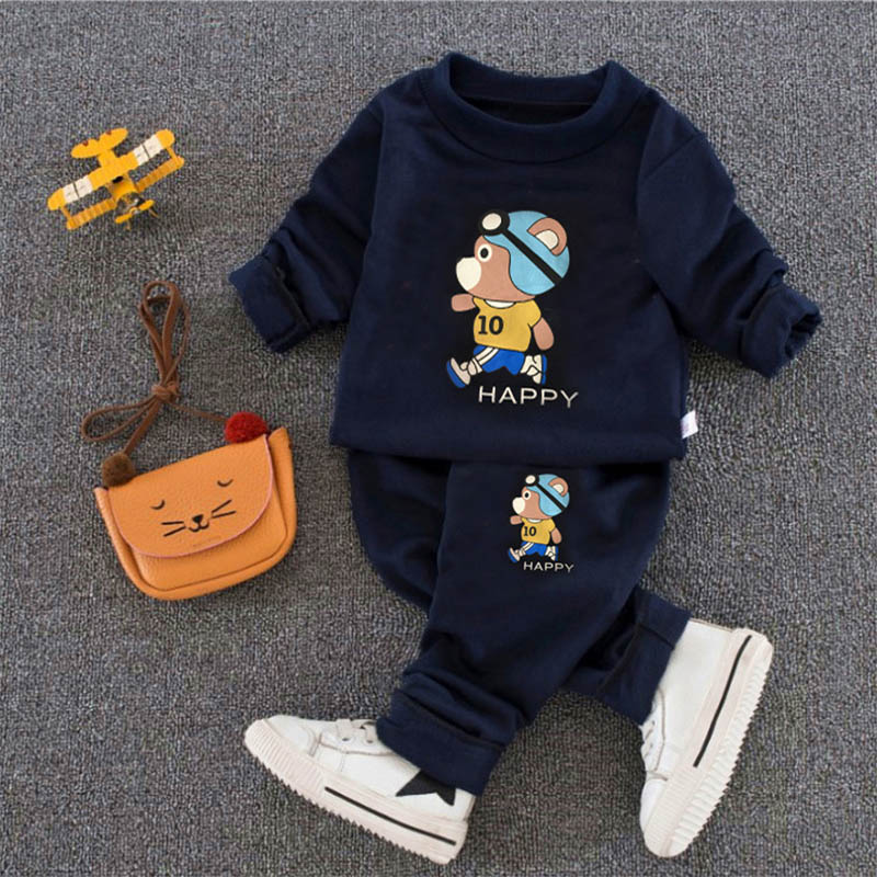 youngsters clothes units 2018 spring autumn child ladies & boys garments set 2 items cartoon print sweatshirts+pants tracksuit 1-Four yr Clothes Units, Low cost Clothes Units, youngsters clothes units...