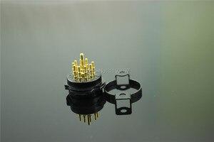 Image 3 - 2 CÁI 9Pin Ống Ổ Cắm Bakelite ổ cắm CMC Socket Cho 6DJ8 EL84 6922 6BM8 6BQ5/EL84 6CG7/6FQ7 ống Vận Chuyển Miễn Phí