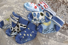 6 Pairs Per Lot  Infants Anti-skid Socks For Children 2-5 Years Baby Girl&Boys Winter Warm Terry Ankle Socks