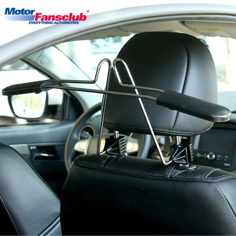 1 stück Auto Fahrzeug Auto Kleiderbügel Rack Sitz Kopfstütze Kleidung Halter Weste Jacke Anzüge Shirts Uniform Auto Styling Verstauen aufräumen