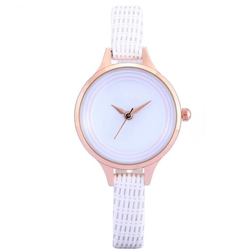 Men Date Alloy Case Synthetic Leather Analog Quartz Sport Watch mens watches top brand