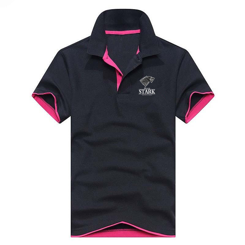 New Game of Thrones Men's   Polo   Shirt For Men   Polos   Men Cotton Short Sleeve shirt clothes jerseys golftennis Plus Size S- XXXL
