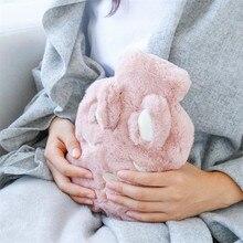 Creative Cute Cartoon rabbit comfortable Hand Feet Warm Hot Water-filling PVC Hot-water Bag Bottles Hand Warmer Bag JJ207