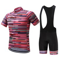 SUREA Summer Breathable Pro Ropa Ciclismo Maillot Bicycle Clothes Symbol Quick Bike Cycling Short Jerseys Gel
